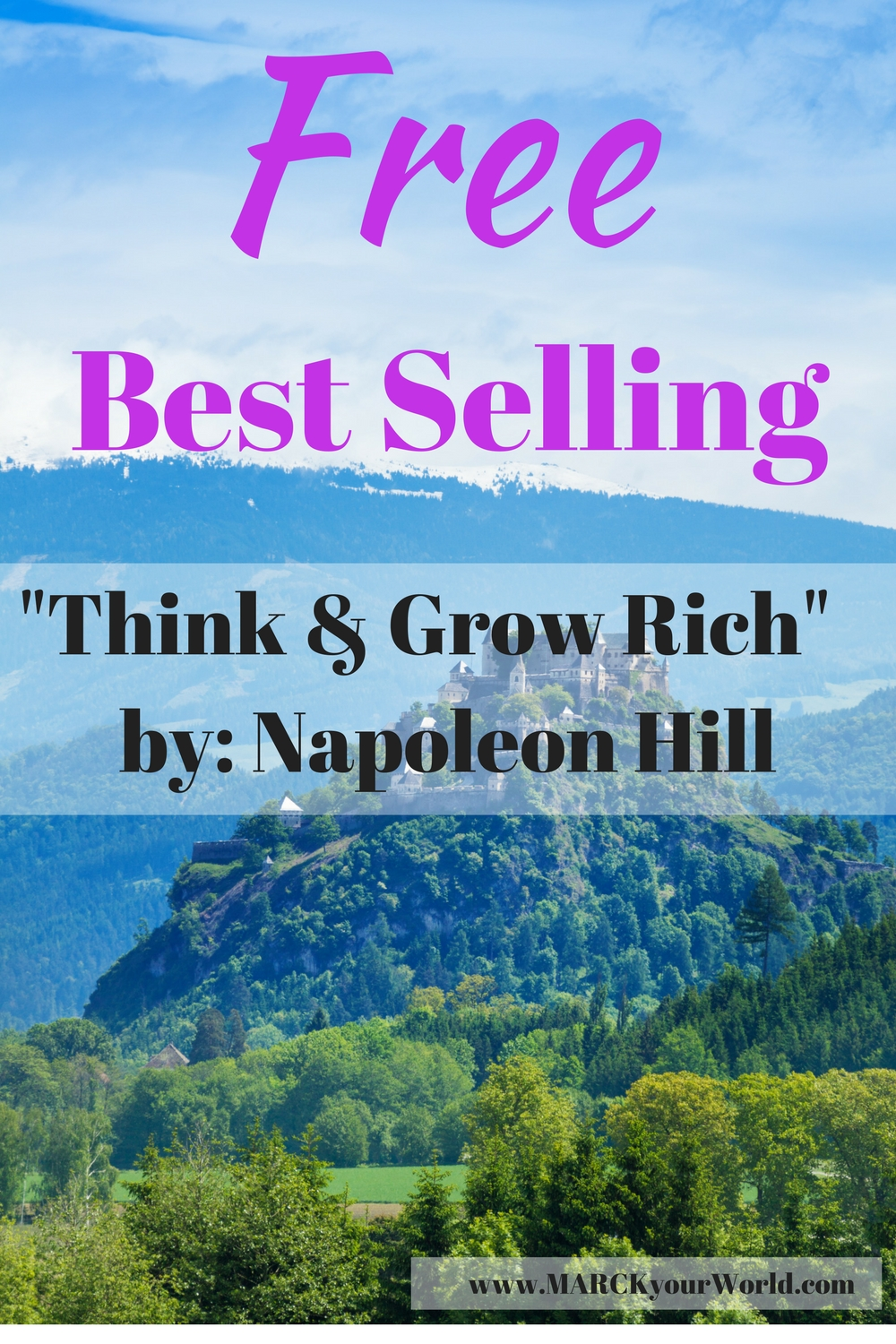"""Free Best Selling """"Think & Grow Rich"""" Napoleon Hill"""